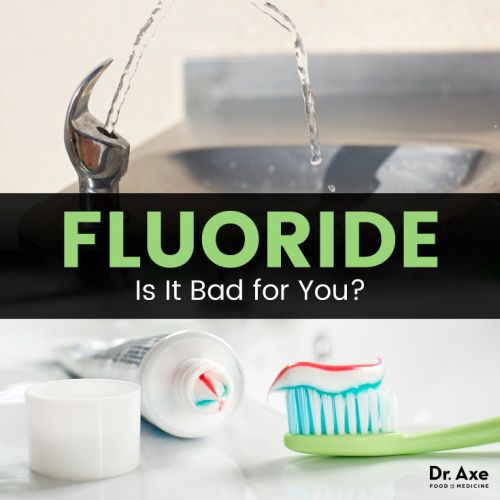 Is Fluoride Bad for You? It's Not Just in the Water