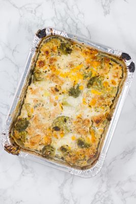Easy Baked Chicken Broccoli and Rice Casserole