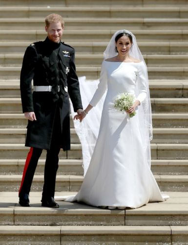 Meghan Markle's Outfit For Princess Eugenie's Wedding Is A Little Nod To Her Own Wedding Dress