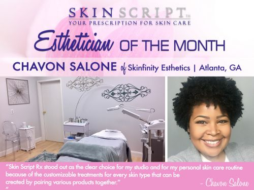 Esthetician of the Month | Chavon Salone