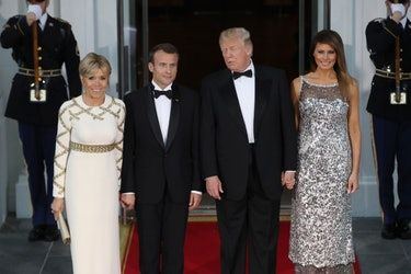 Photos Of Trump's Vs. Obama's First State Dinner Show Some Very Different Choices
