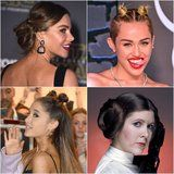 Sofia Vergara, Miley Cyrus, and More Stars Who Have Rocked Princess Leia Buns