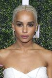 Zoë Kravitz's Hairstyle Looks Like a Simple Ponytail - Until She Turns Around