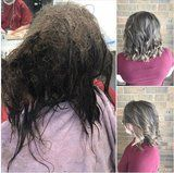 Over 2 Days and 13 Hours, 1 Stylist Absolutely Transformed a Depressed Teens's Hair