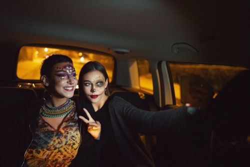 36 Instagram Captions For Halloween Drive-Thru Pics & Spooky Selfies