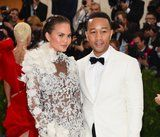 Chrissy Teigen Just Shared the First IRL Glimpse of Her Becca Palette at the Met Gala