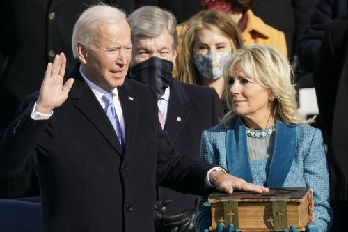 Jill Biden's Reaction To Joe Biden's 2021 Inauguration Was Literally The Most Supportive