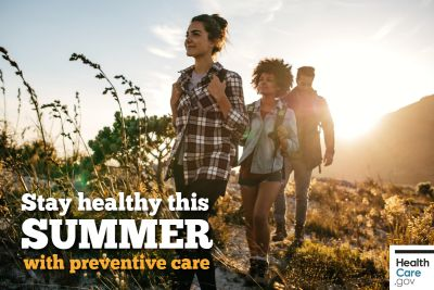 Stay healthy this summer with preventive care