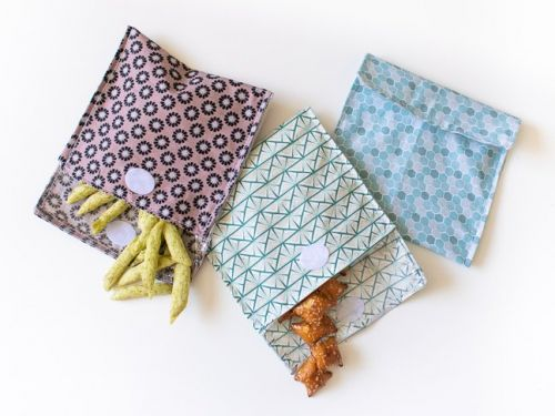 Reduce Waste With These DIY Reusable Snack Bags