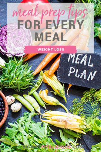 Meal Prep Tips For Weight Loss For Every Meal