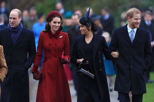 "The Palace's Response To Rumors Kate Middleton's ""Exhausted"" After Meghan & Harry's Exit Is Intense"