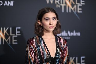 Photos of Rowan Blanchard's Hair Will Have You Vying For A Feather Cut Too