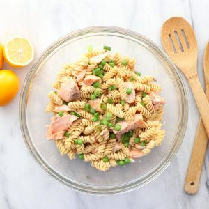 MEYER LEMON SALMON PASTA
