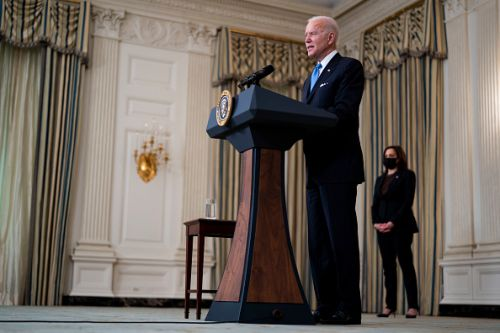 Biden invokes federal law to broker Merck, J&J Covid vaccine manufacturing alliance