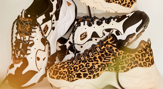 The New Skechers D'Lites 3.0 Styles Give Animal Print A Fashion-Forward Update For Fall
