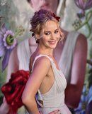 Jennifer Lawrence's Flower-Filled Updo Is Even Better From the Back