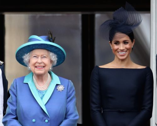 Queen Elizabeth's Former Aide's Comments About Meghan Markle's Baby Shower Are So Shady