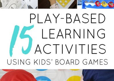 15 Play-Based Learning Activities That Use Your Kids' Favourite Board Games