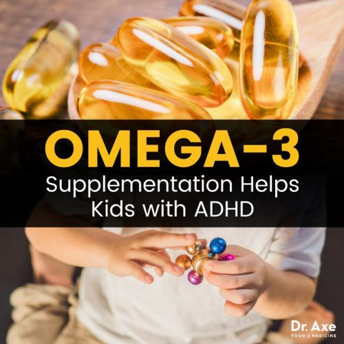 Omega-3 Supplements Can Help Kids with ADHD