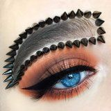 Forget Pumpkin Spice - These Brows Are Pumpkin and Spikes!