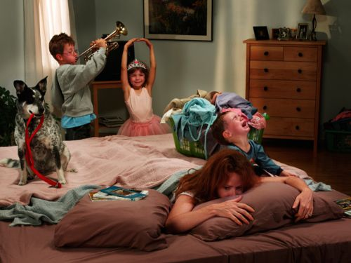 Thoughts Moms Have When They Are Sick, from Our Favorite Funny Moms