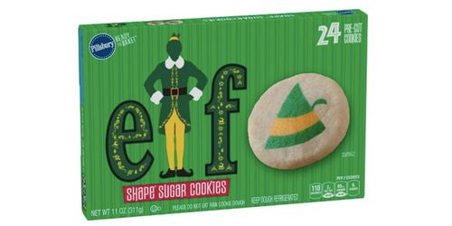 Pillsbury's Buddy The Elf Sugar Cookies Are Coming For The Perfect Holiday Treat