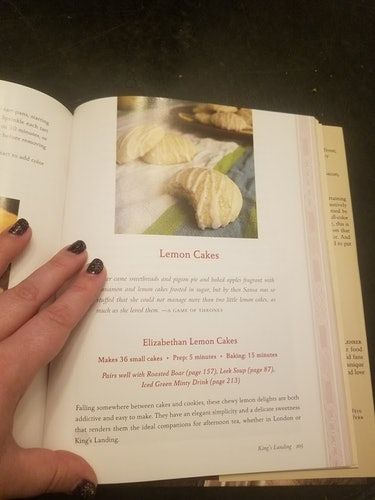 The 'Game Of Thrones' Cookbook Includes Stark Family Favorites & Here's The Best One