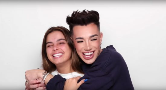 James Charles' Video Doing Addison Rae's Makeup Is Freakin' Adorable
