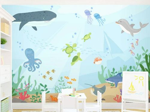 11 Adorable Nursery Wall Murals for Your Baby's Room