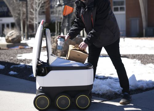 Starship Robots' Delivery Is Offering Free Einstein Bros. Bagels To Honor Its Arizona Launch