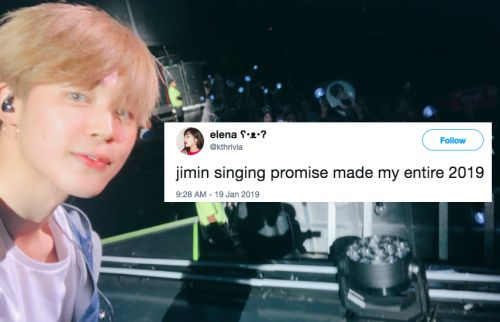 "This Video Of BTS' Jimin Singing ""Promise"" With Fans In Singapore Sounds Like Heaven"