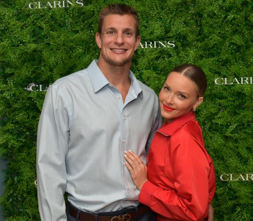 Rob Gronkowski & Camille Kostek's Relationship Timeline Is A Total Touchdown