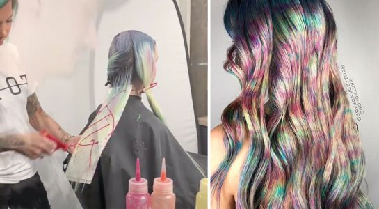 "The ""Squirt Gun"" Hair Trend Is The Super Colorful Hair Color You've Always Wanted"