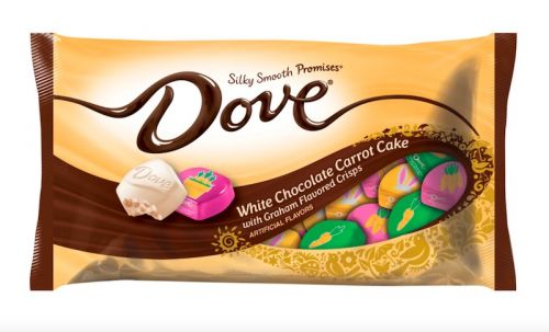 Here's Where To Get Dove's White Chocolate Carrot Cake Easter Candy For A Seasonal Treat
