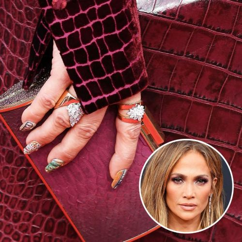 J.Lo Had the Most Expensive Manicure On The Red Carpet Last Night-Here's Why