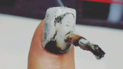 Talking to the Nail Artist Creating Weed Manicures That Actually Smoke