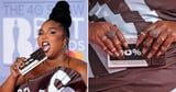 Lizzo's Nails Were Painted as the Cutest Mini Chocolate Bars at the BRIT Awards