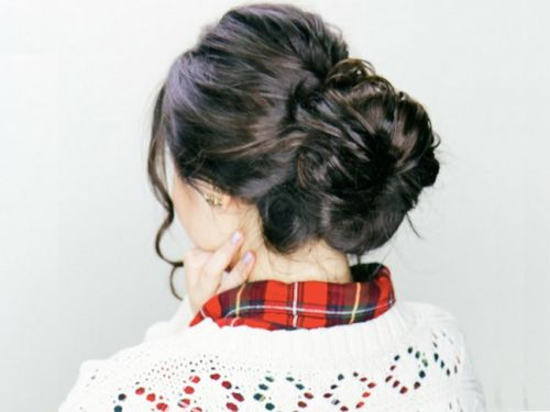 2 Easy Holiday Hairstyles With Clip-In Extensions