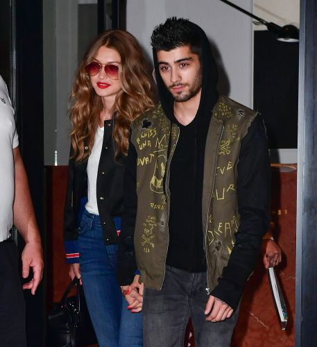 Gigi Hadid's Never-Before-Seen Pregnancy Photos With Zayn Are So Cute