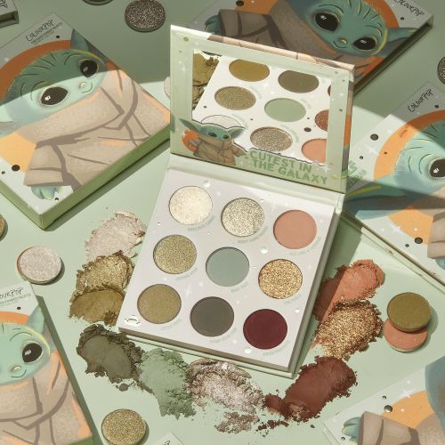 When Does ColourPop's Baby Yoda Palette Drop? Get Ready, 'Mandalorian' Fans