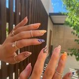 Kylie Jenner Put a Twist on the Negative-Space Nail-Art Trend With a Mismatched Manicure