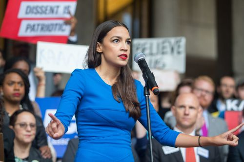 "Alexandria Ocasio-Cortez's 2019 Women's March Speech Asked Women To ""Shake The Table"""