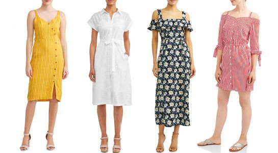 8 Summer Dresses From Walmart That Are Under $30 & SO Beautiful