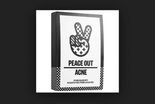 """Peace Out"" Acne, Your Newest Approach To Fighting Blemishes"