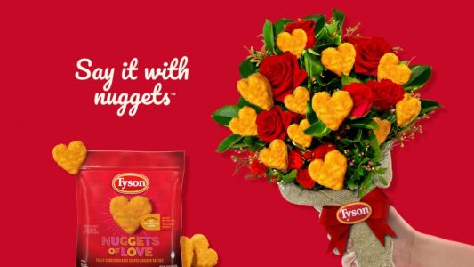 Here's How To Get Tyson's Heart-Shaped Chicken Nuggets Of Love For A Valentine's Day Bite