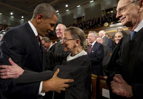 Great Outfits in Fashion History : In Appreciation of Ruth Bader Ginsburg's Commitment to the Scrunchie