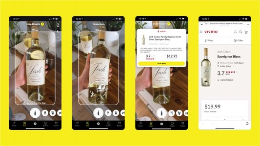 Snapchat's Wine Scan Feature With Vivino Will Make Food Pairings A Breeze