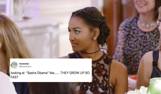 These Tweets About Sasha Obama Going To Prom Have People Getting So Emotional
