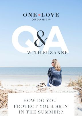 Q&A With Suzanne: How do you protect your skin in the summer?