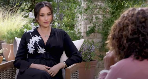 Meghan Markle Wearing Princess Diana's Bracelet In Her Oprah Interview Is A Sweet Nod